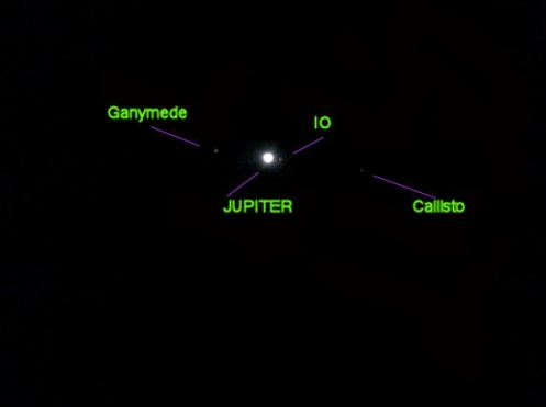 Jupiter and 3 moons 11/10/2009 ( Click For Larger Picture)