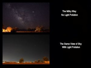 What is Sky Glow?  (Click For Larger Picture)